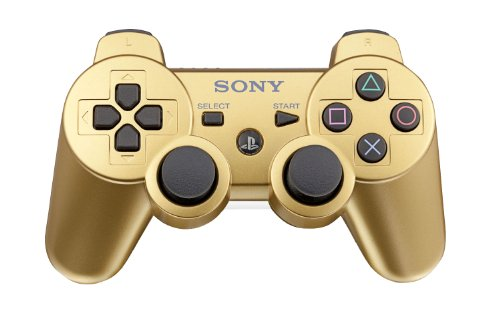 PlayStation 3 DualShock 3 wireless controller - Metallic Gold Featured