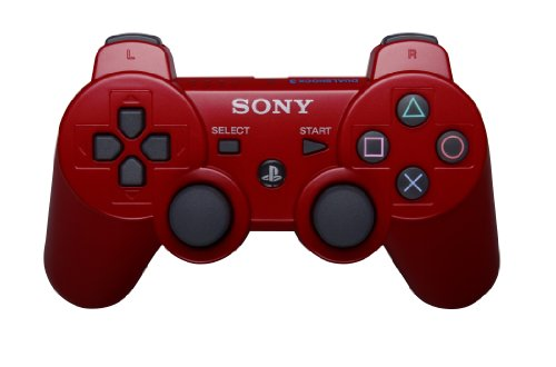 PlayStation 3 Dualshock 3 Wireless Controller (Red) Featured