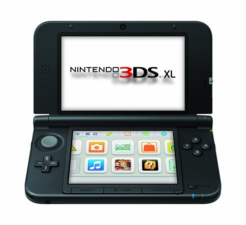 Nintendo 3DS XL Black/Black - Nintendo 3DS XL Featured