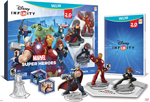 Disney INFINITY: Marvel Super Heroes (2.0 Edition) Video Game Starter Pack - Wii U Featured