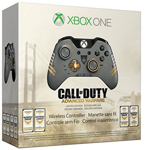 Xbox One Limited Edition Call of Duty: Advanced Warfare Wireless Controller Featured