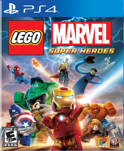 LEGO Marvel Super Heroes - PlayStation 4 Featured