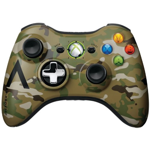 Xbox 360 Wireless Controller -  Camouflage Featured