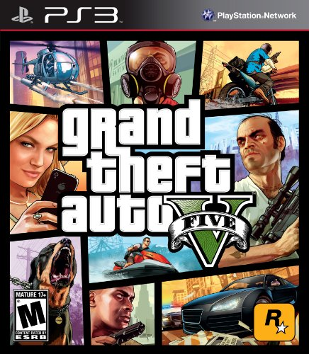 Grand Theft Auto V - Playstation 3 Featured