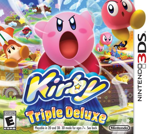 Kirby Triple Deluxe - Nintendo 3DS Featured