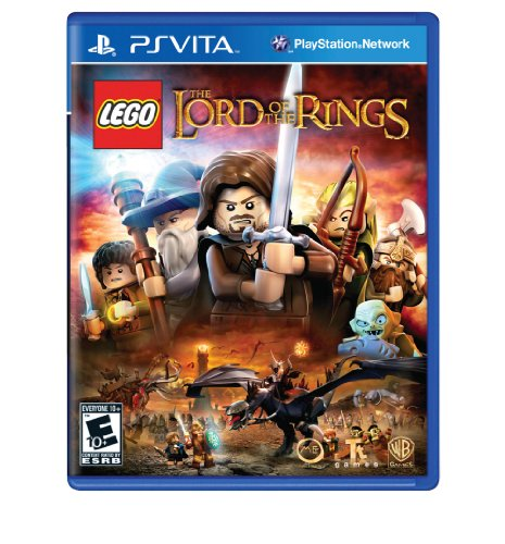 LEGO Lord of the Rings - PlayStation Vita Featured