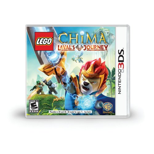 LEGO Legends of Chima: Laval's Journey - Nintendo 3DS Featured