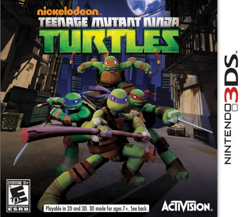 Teenage Mutant Ninja Turtles - Nintendo 3DS Featured