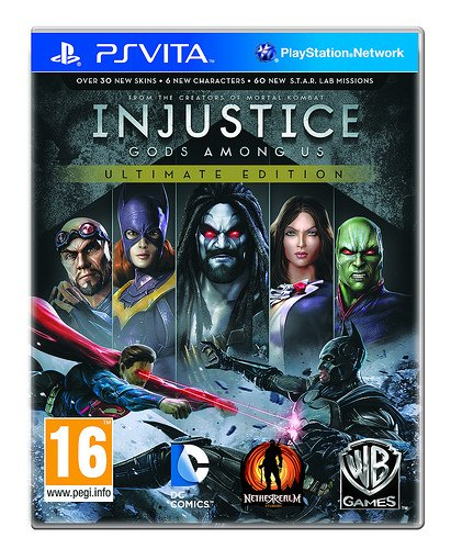 Injustice: Gods Among Us Ultimate Edition - PlayStation Vita Featured